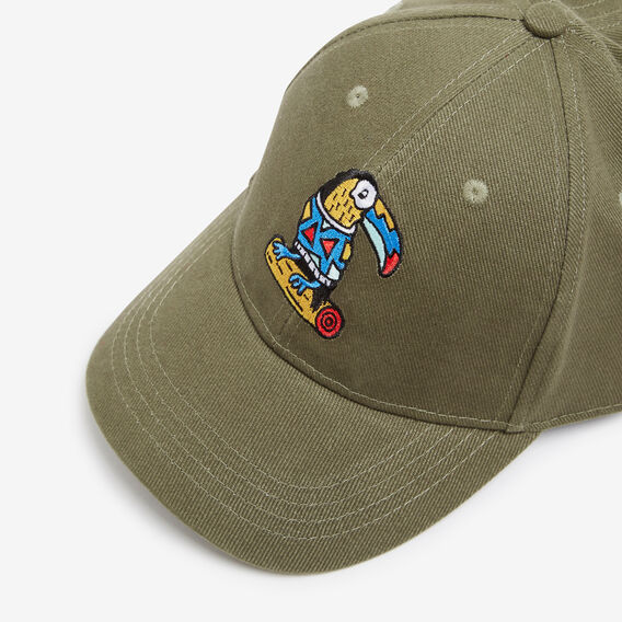 TOUCAN CAP  OLIVE  hi-res