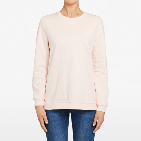 OXFORD SPLICE SWEAT  PASTEL PINK/SUMMER W  hi-res