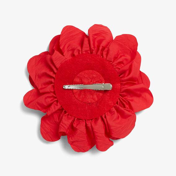 FLOWER CLIP  RED  hi-res