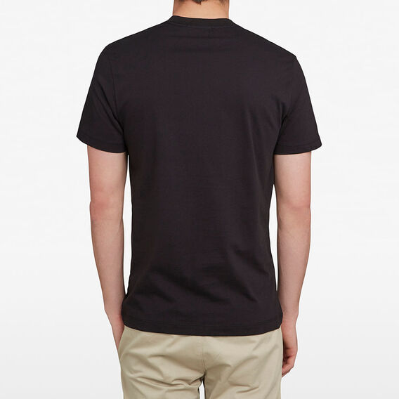 FCUK ARCHED T-SHIRT  BLACK  hi-res