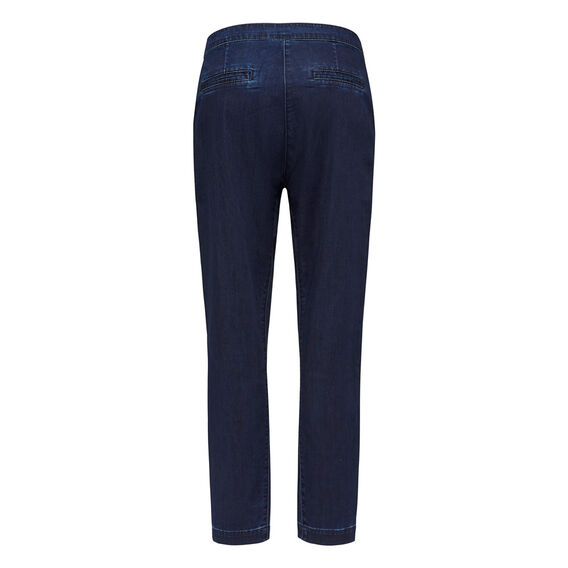 DROP CROTCH CHAMBRAY PANT  VINTAGE WASH  hi-res