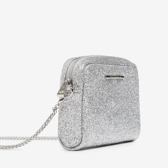 SPARKLE CROSS BODY BAG  SILVER  hi-res