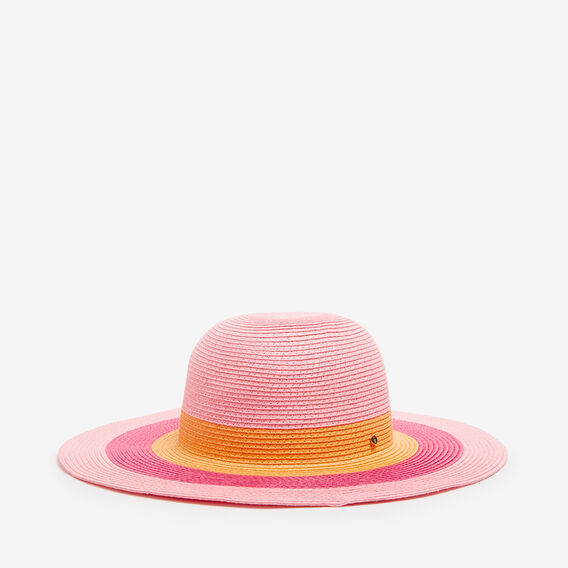 CHA CHA STRIPE WIDE BRIM  MULTI  hi-res