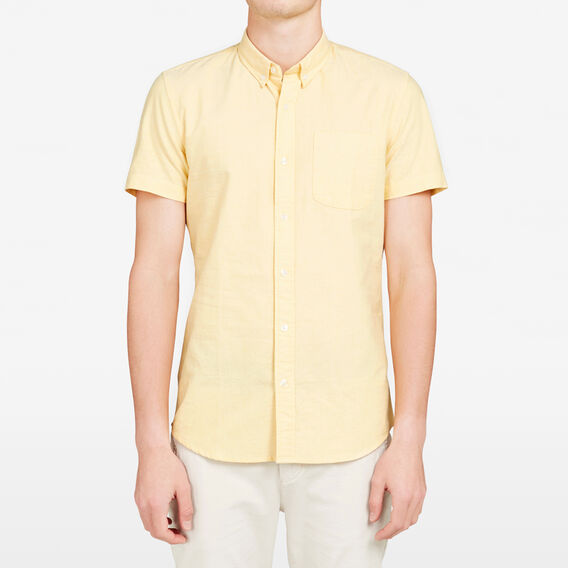 GIALLO OXFORD SLIM FIT SHIRT  AMALFI YELLOW  hi-res