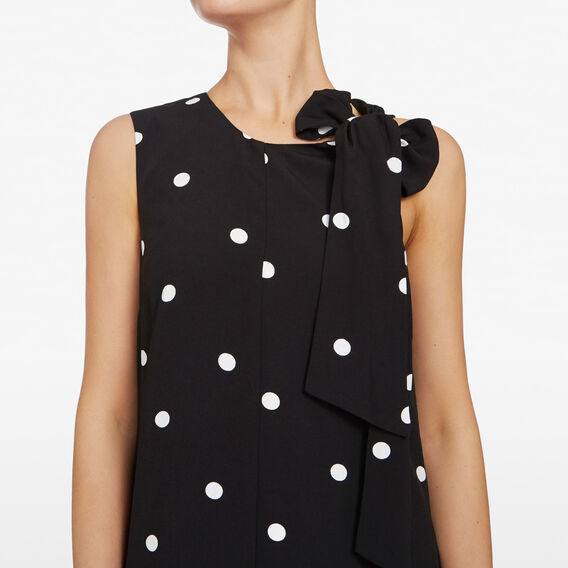 LARGE SPOT JUMPSUIT  BLACK/SUMMER WHITE  hi-res