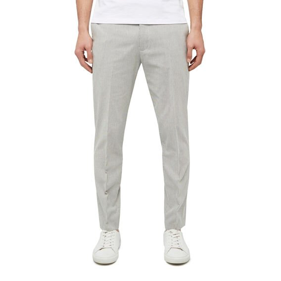 PINCORD STRETCH TROUSER  WHITE/NAVY  hi-res