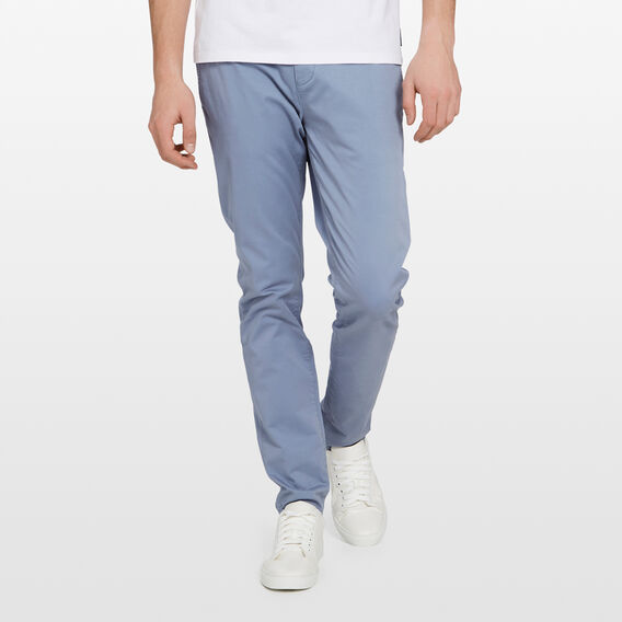 SLIM FIT STRETCH CHINO PANT  CORNFLOWER BLUE  hi-res