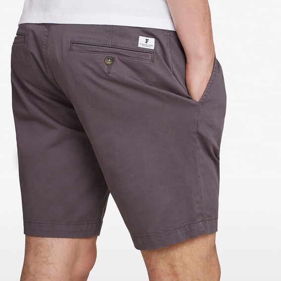 CHARLIE STRETCH CHINO SHORT  CHARCOAL  hi-res