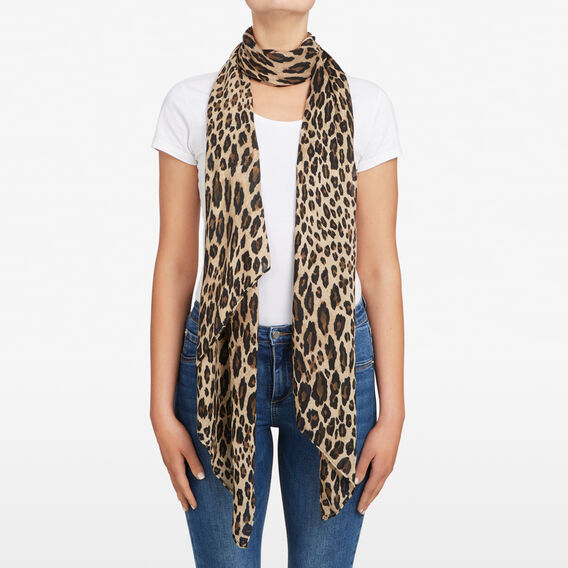 ANIMAL LIGHTWEIGHT SCARF  MULTI  hi-res