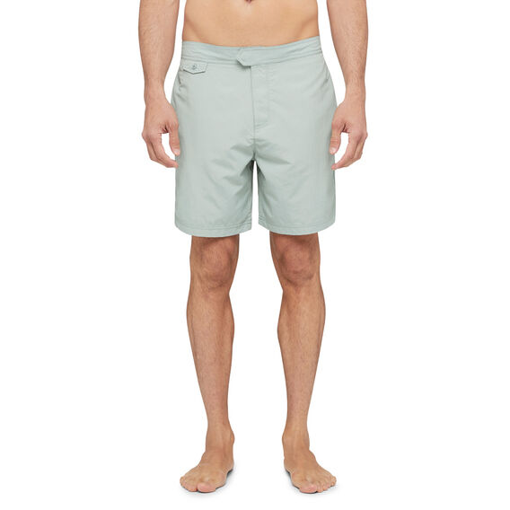 "SOLID 7"" SWIM SHORTS  SEA MIST GREEN  hi-res"