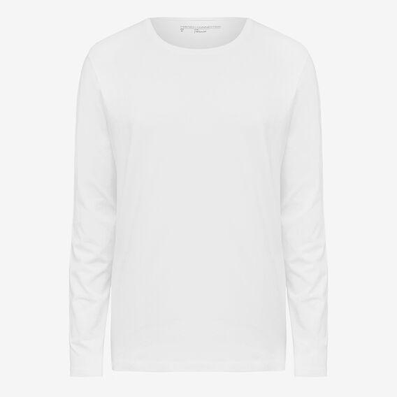 CLASSIC LONG SLEEVE T-SHIRT  WHITE  hi-res