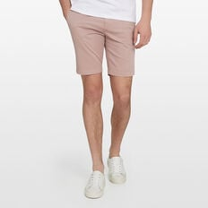 CHARLIE STRETCH CHINO SHORT  PALE ORCHID  hi-res