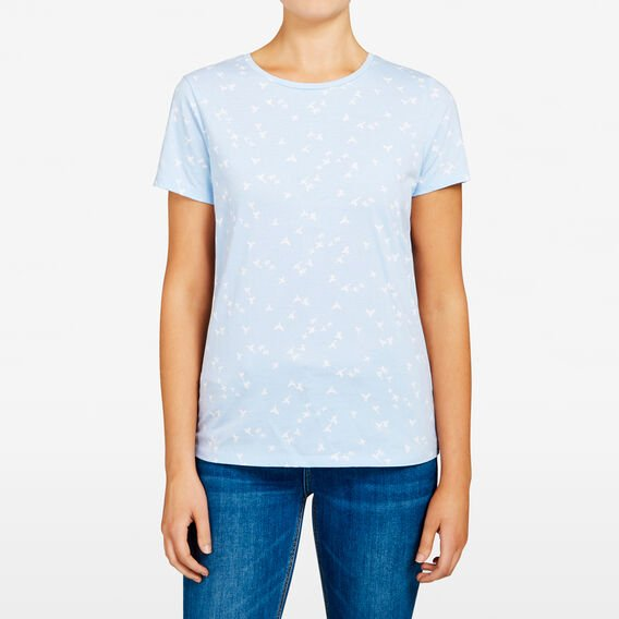 ORIGAMI BIRD PRINTED TEE  LIGHT BLUE/ SUMMER W  hi-res