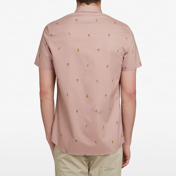 OXFORD MINI PARROT CUSTOM FIT SHIRT  PALE ORCHID  hi-res