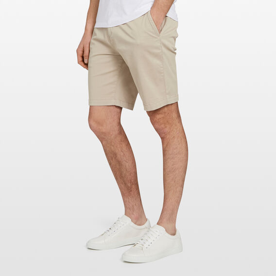RELAXED FIT CHINO SHORT  STONE  hi-res