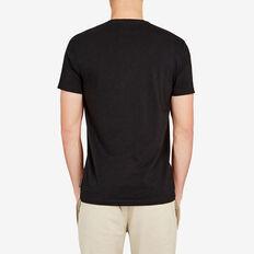 CLASSIC CREW NECK T-SHIRT  BLACK  hi-res