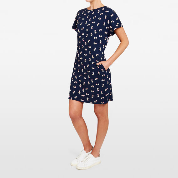 PRINTED T-SHIRT DRESS  NOCTURNAL/MULTI  hi-res