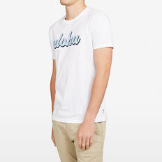 ALOHA CREW NECK T-SHIRT  WHITE  hi-res