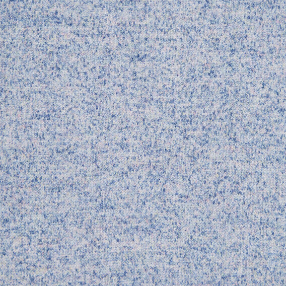 TASSEL SCARF  PALE BLUE MARLE  hi-res
