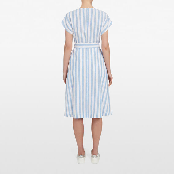 SEABREEZE STRIPE DRESS  SEA BLUE/SUMMER WHIT  hi-res