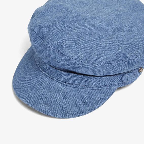 DENIM PAPERBOY CAP  CHAMBRAY  hi-res