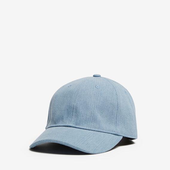 WASHED DENIM CAP  CHAMBRAY  hi-res