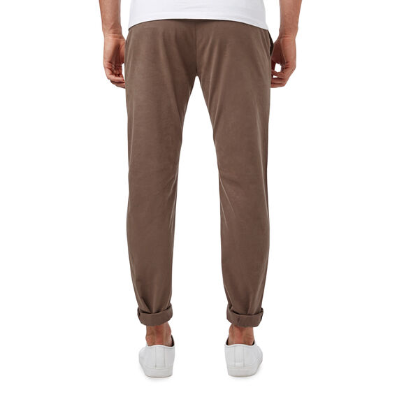 REGULAR FIT STRETCH CHINO PANT  BARK  hi-res