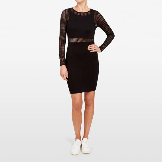 SIA DRESS  BLACK  hi-res