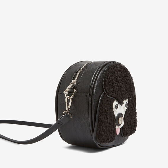 LUCKY POODLE BAG  BLACK/MULTI  hi-res