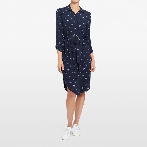 BEE SHIRT DRESS  NOCTURNAL/MULTI  hi-res