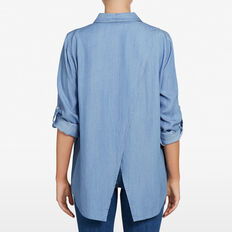 CHAMBRAY TENCEL SHIRT  CHAMBRAY  hi-res