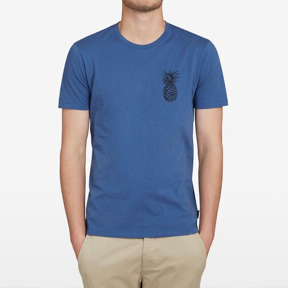 PINEAPPLE CHEST T-SHIRT  ROYAL BLUE  hi-res