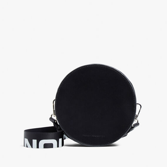 ROUND FCUK BAG  BLACK  hi-res