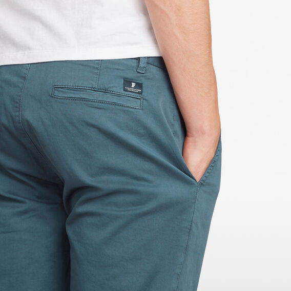 REGULAR FIT STRETCH CHINO PANT  PETROL  hi-res