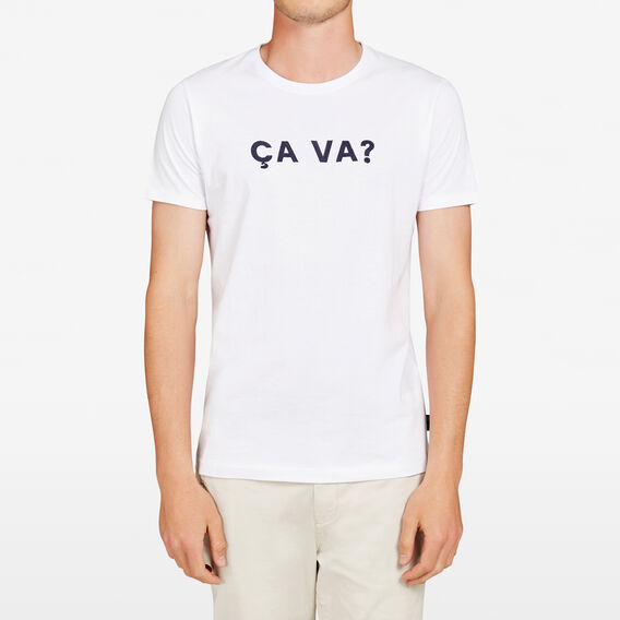 CA VA CREW NECK T-SHIRT  WHITE  hi-res