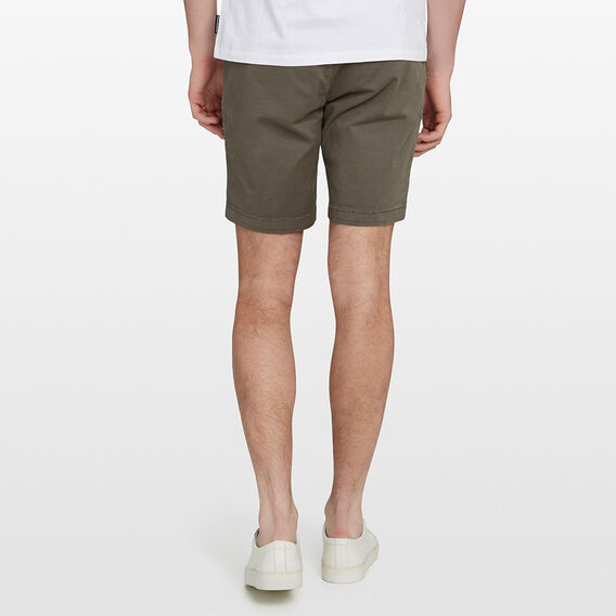 CHARLIE STRETCH CHINO SHORT  NEO OLIVE  hi-res