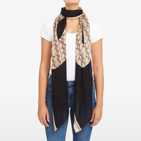 WILD WEST SNAKE SCARF  MULTI  hi-res
