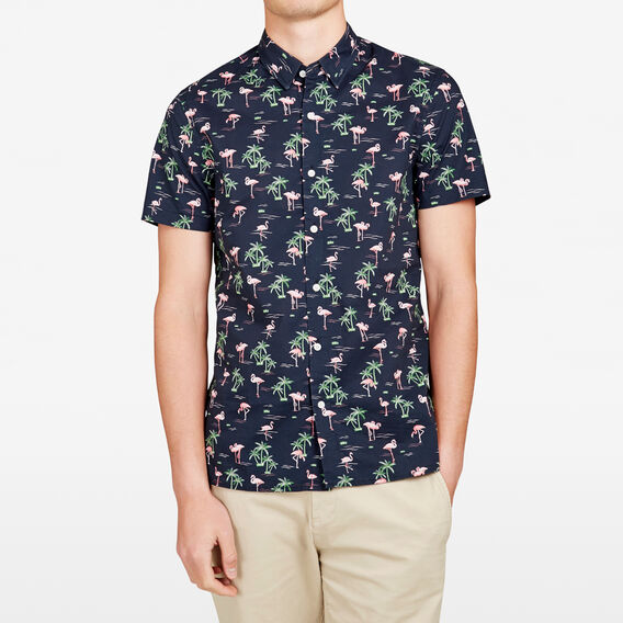 CLUB HAVANA REGULAR FIT SHIRT  MARINE BLUE  hi-res