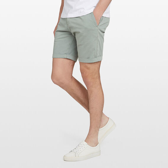 CHARLIE STRETCH CHINO SHORT  MINT  hi-res