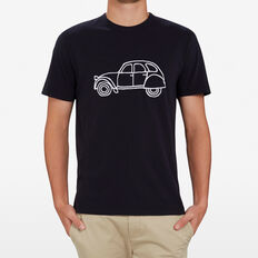 FRENCH CAR T-SHIRT  UTILITY BLUE  hi-res