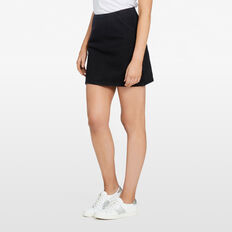 MINI DENIM SKIRT  BLACK  hi-res