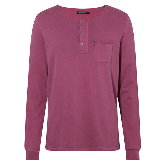 LONG SLEEVE HENLEY WITH POCKET    hi-res