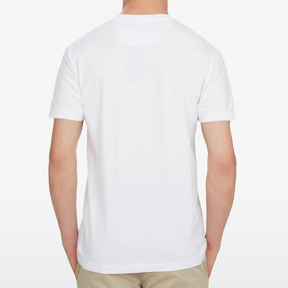 FCUK EMBROIDERED T-SHIRT  WHITE  hi-res