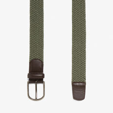 BRAIDED BELT  KHAKI  hi-res