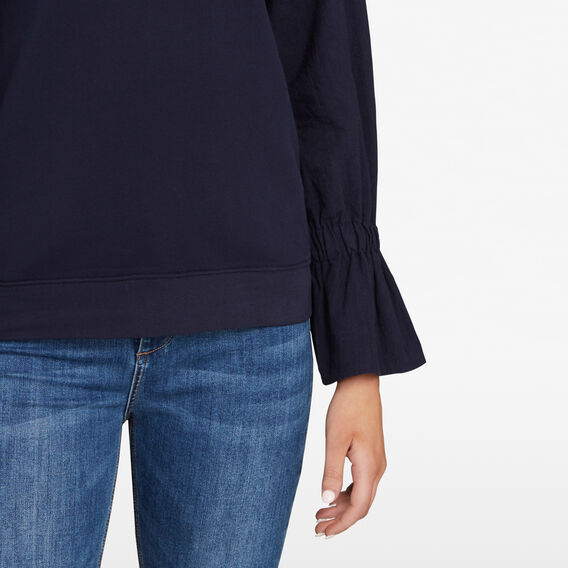 SPLICED SLEEVE SWEAT  NOCTURNAL  hi-res