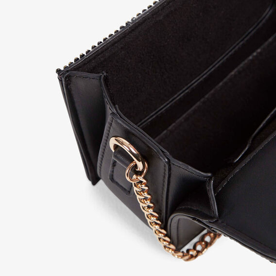 SPARKLE CLUTCH BAG  BLACK/BLACK  hi-res