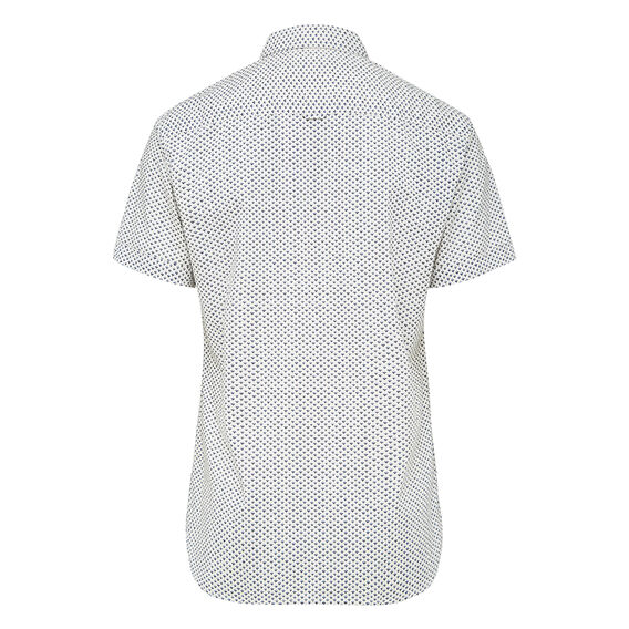 DITSY PRINT SHORT SLEEVE SLIM FIT SHIRT    hi-res