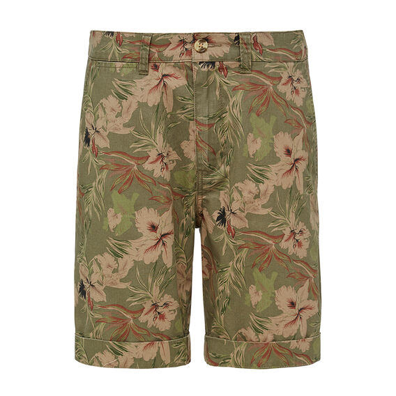 SAFARI PRINT SHORT    hi-res