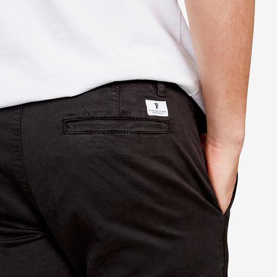 SLIM FIT STRETCH CHINO PANT  BLACK  hi-res