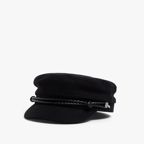 PAPER BOY CAP  BLACK  hi-res